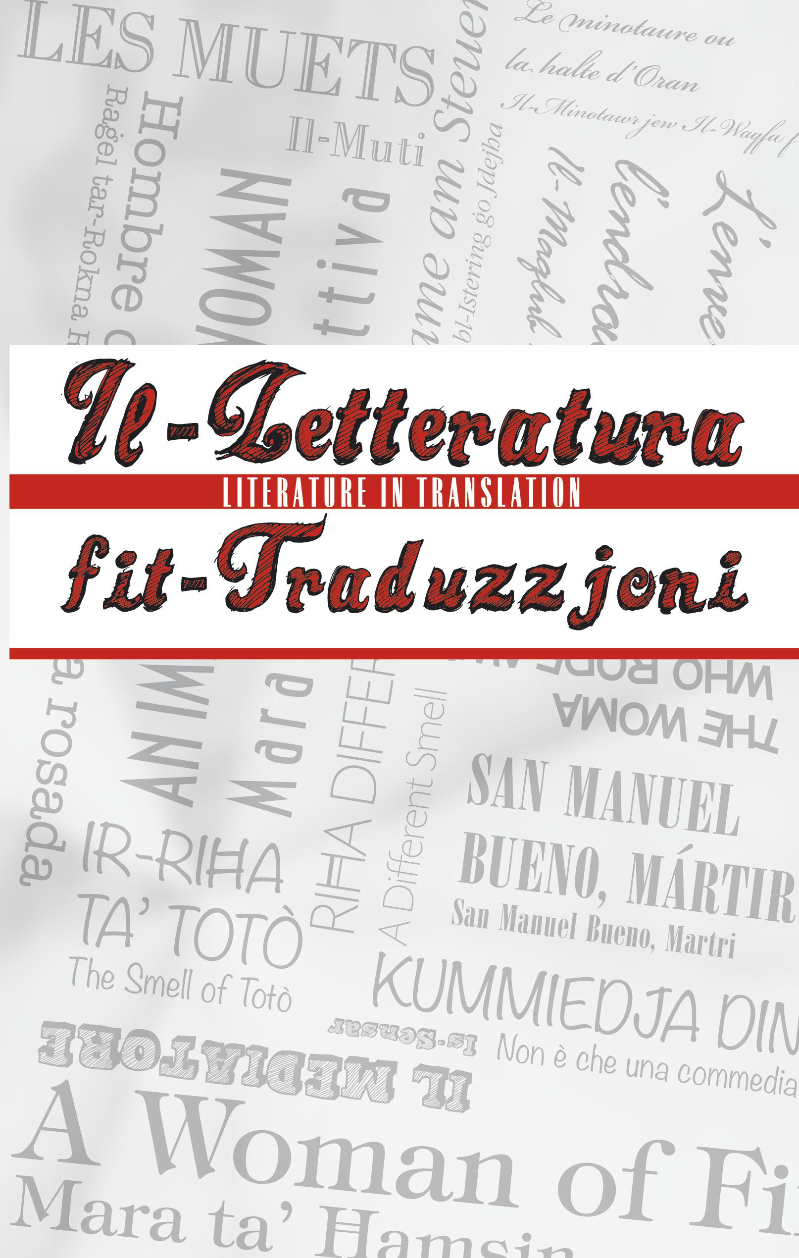 Il-Letteratura fit-Traduzzjoni / Literature in Translation