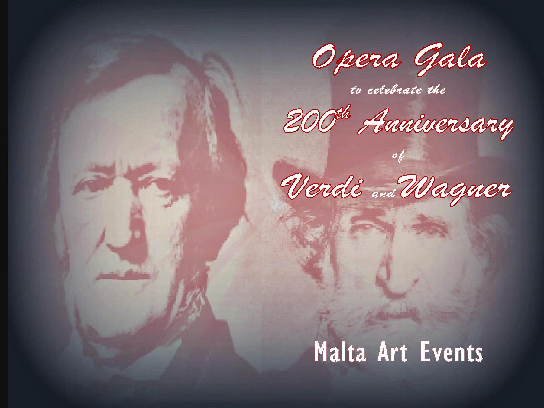 Verdi & Wagner Opera Gala Commemorative Programme