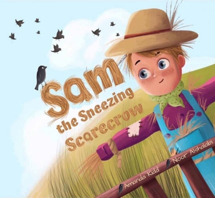 Sam the Sneezing Scarecrow