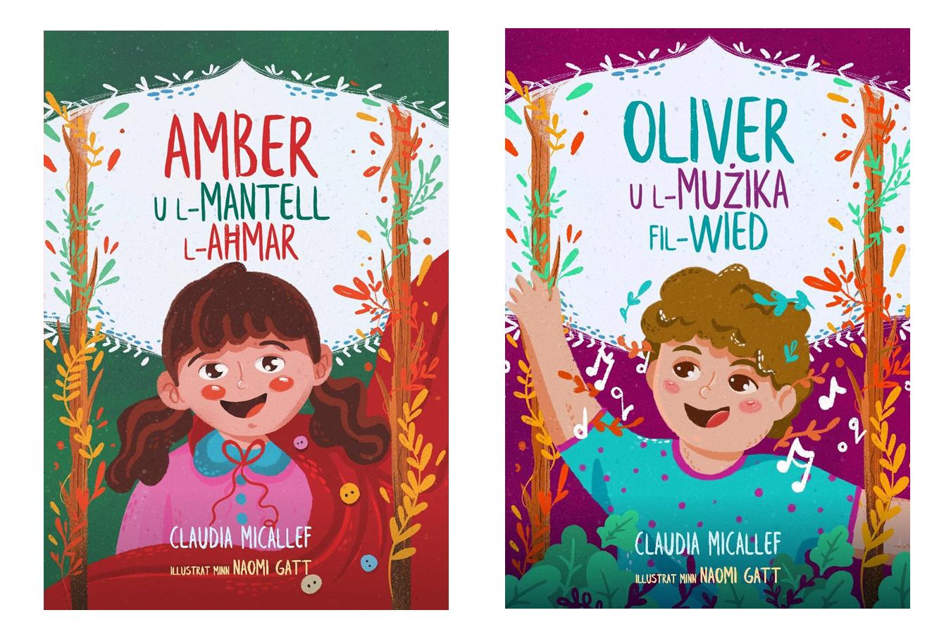 Bundle - Amber u l-Mantell l-Aħmar u Oliver u l-Mużika fil-Wied
