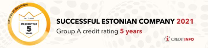 Successful Estonian company 2021