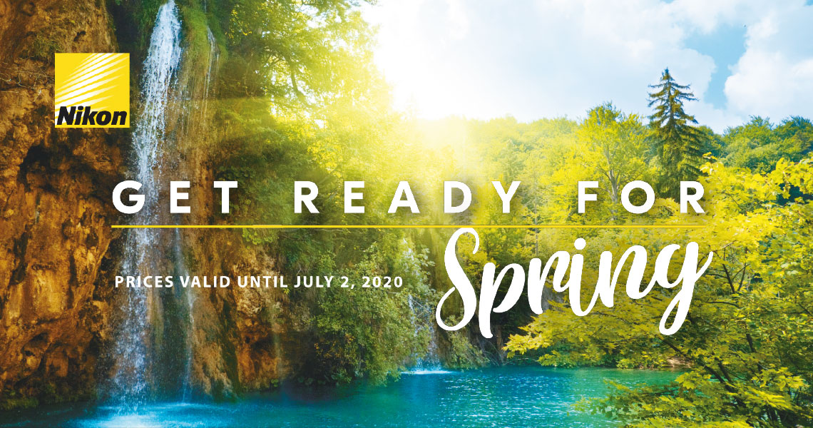 Get Ready for Spring - Prices valid until July2, 2020