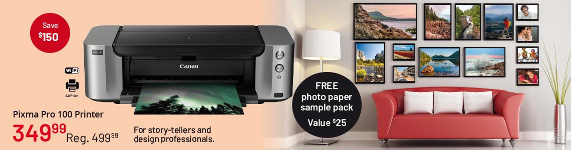 Imprimante Pixma Pro 100