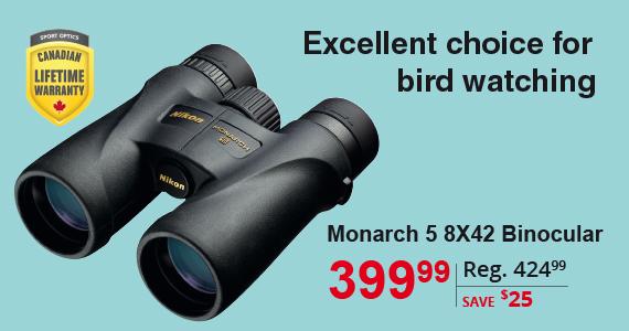 Monarch 5 8x42 Binocular