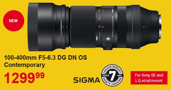 100-400m F5-6.3 Sigma