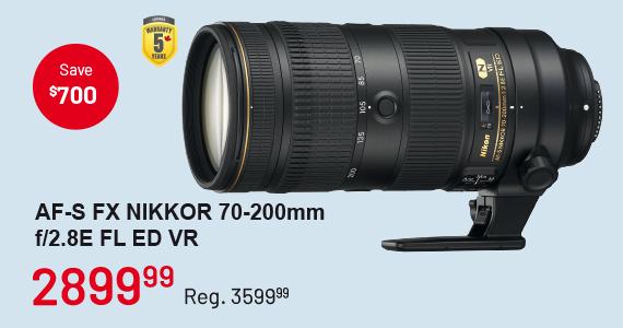 AF-S FX NIKKOR 70-200m