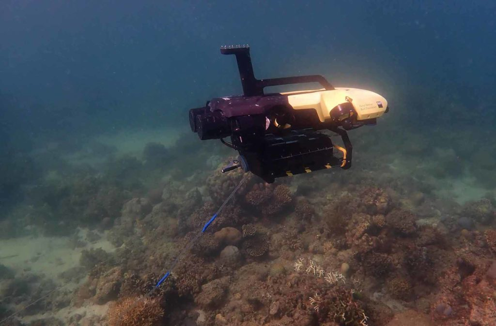 underwater ROV vehicle