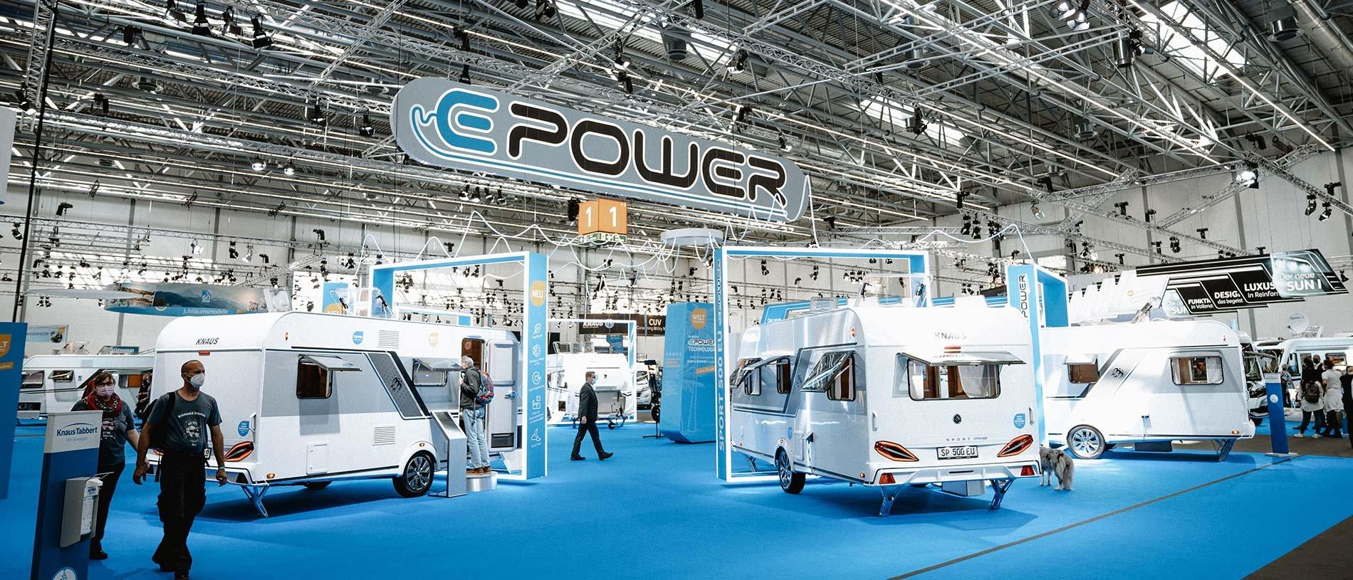 Knaus Tabbert e power electric vehicles