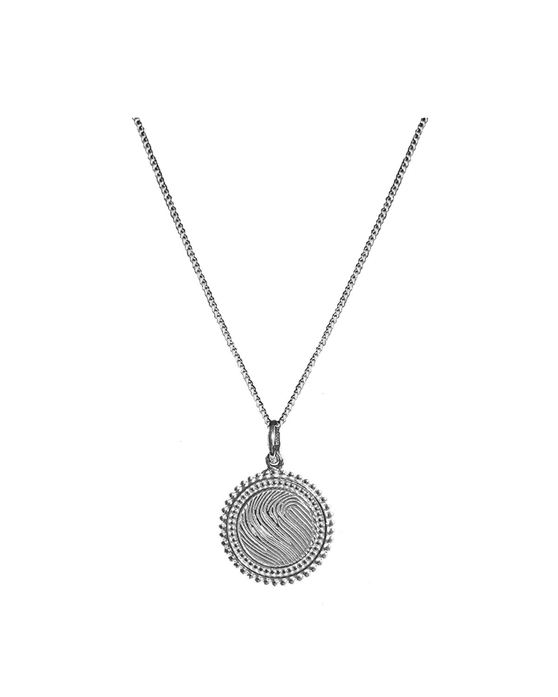 Solar Necklace, Silver