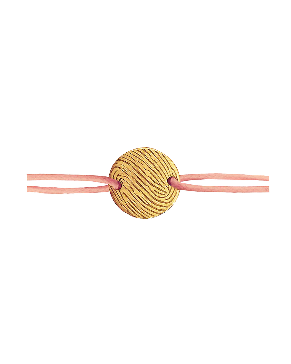 Cord Bracelet, Gold-plated