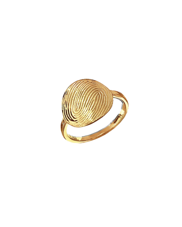 Huella Ring, Gold-plated