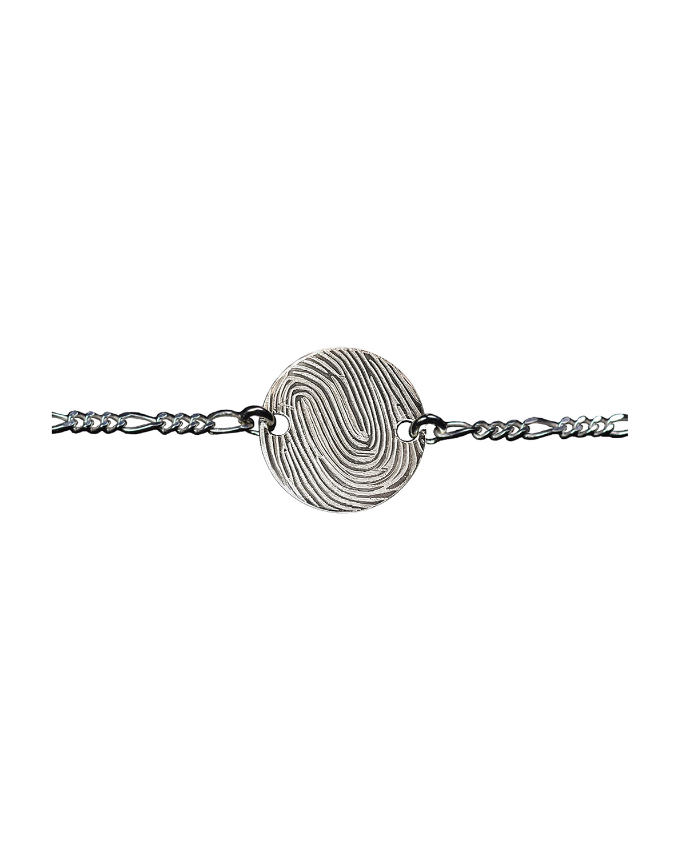Bracelet Huella, Argent