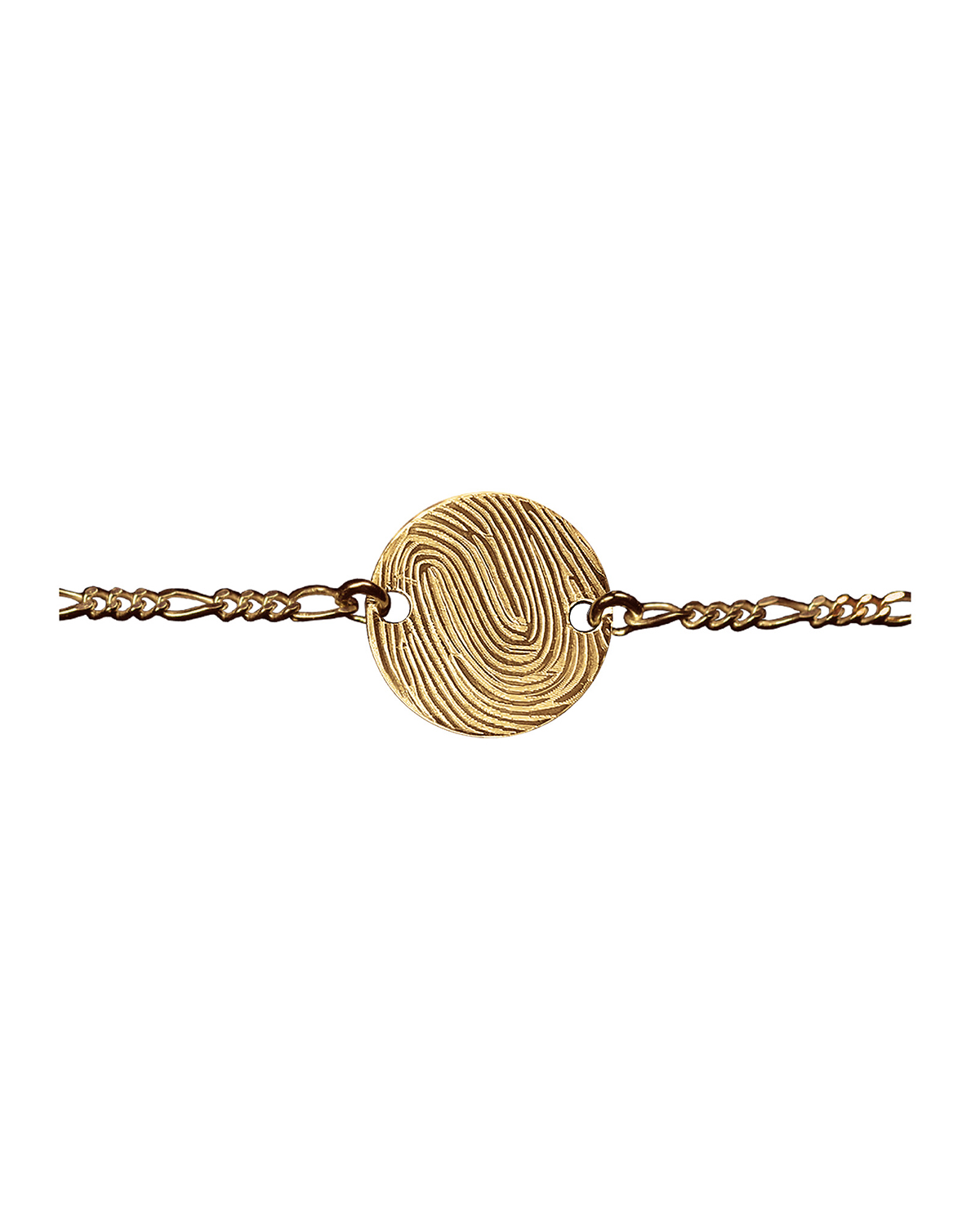 Huella Bracelet, Gold-plated