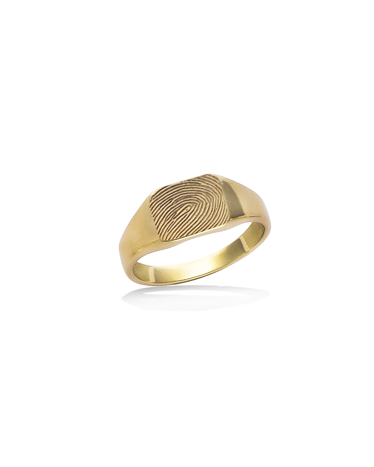 Signet Ring, Rectangle, G-P