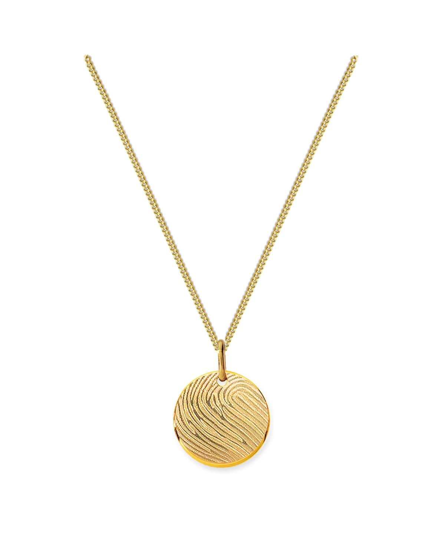 18K Huella Necklace