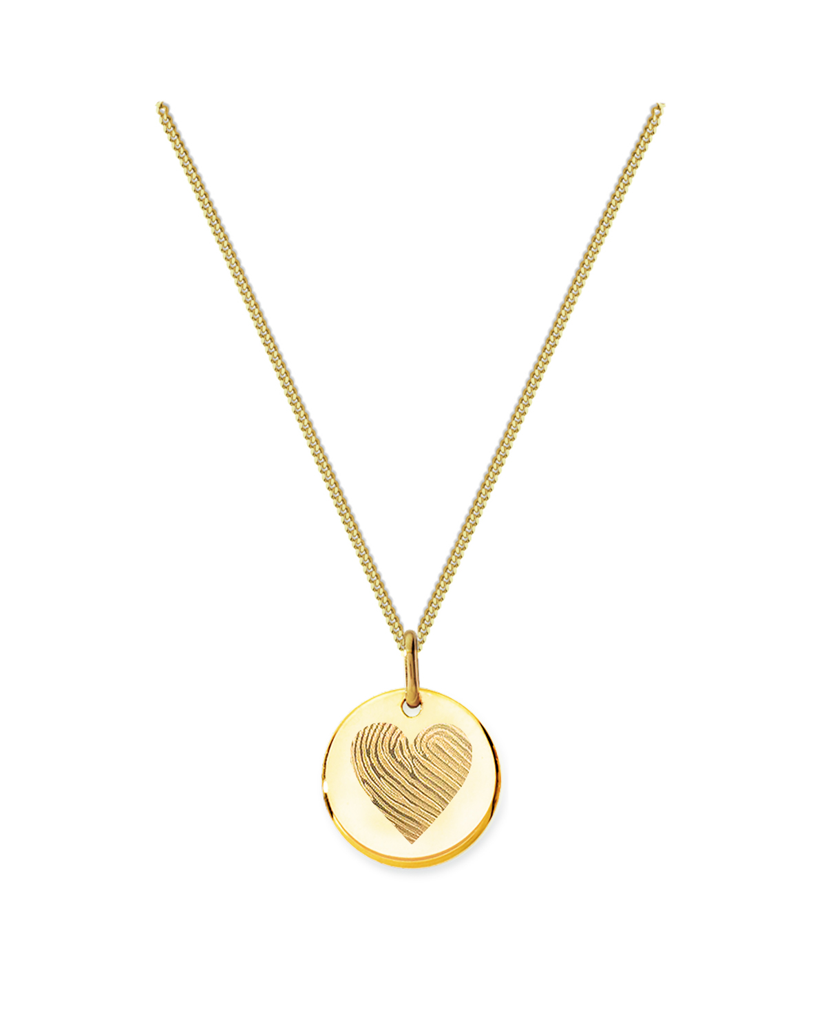 18K Heart Necklace