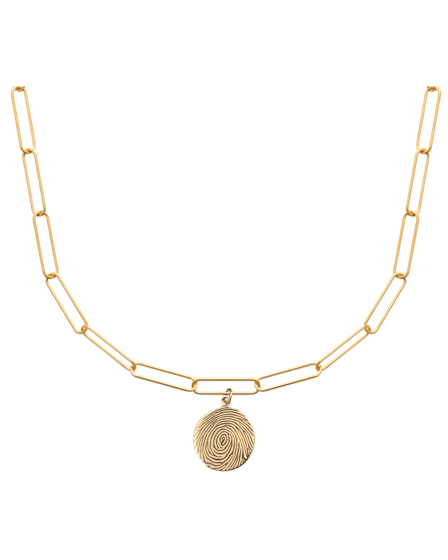 Choker Necklace, Gold-plated