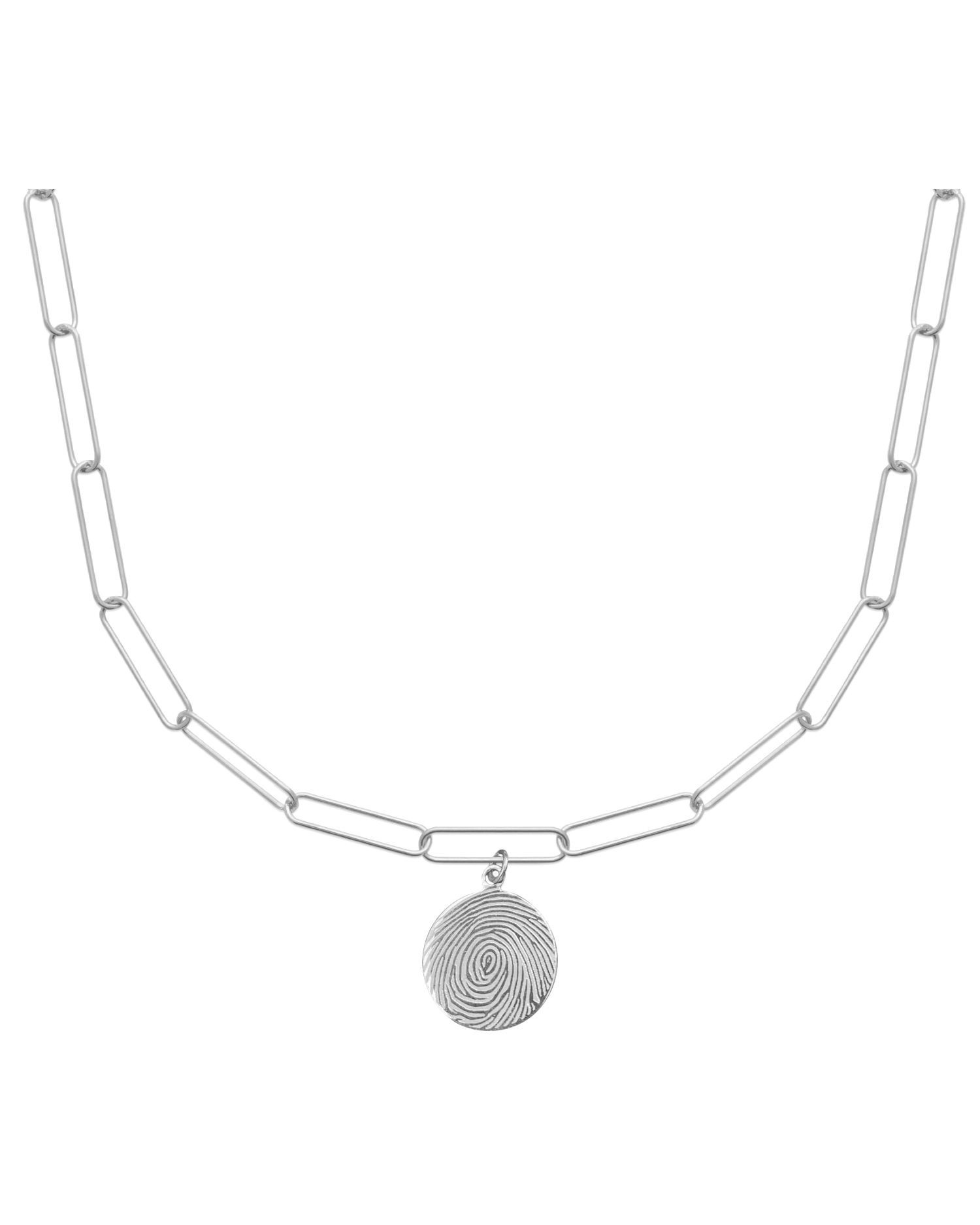 Choker Necklace, Silver