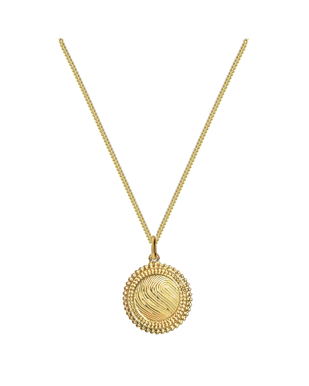 18K Royal Solar Necklace
