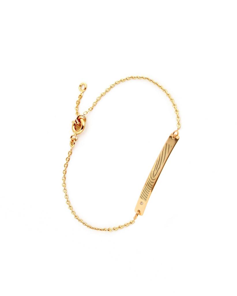 Curb Bracelet, Gold-Plated