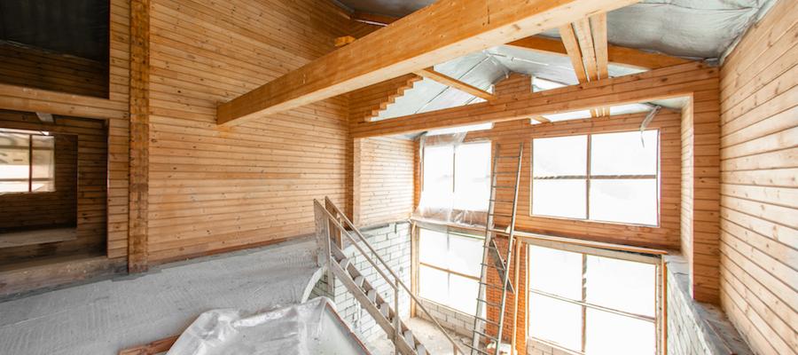 Bygge på etasje