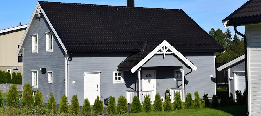 Hus med utleiedel