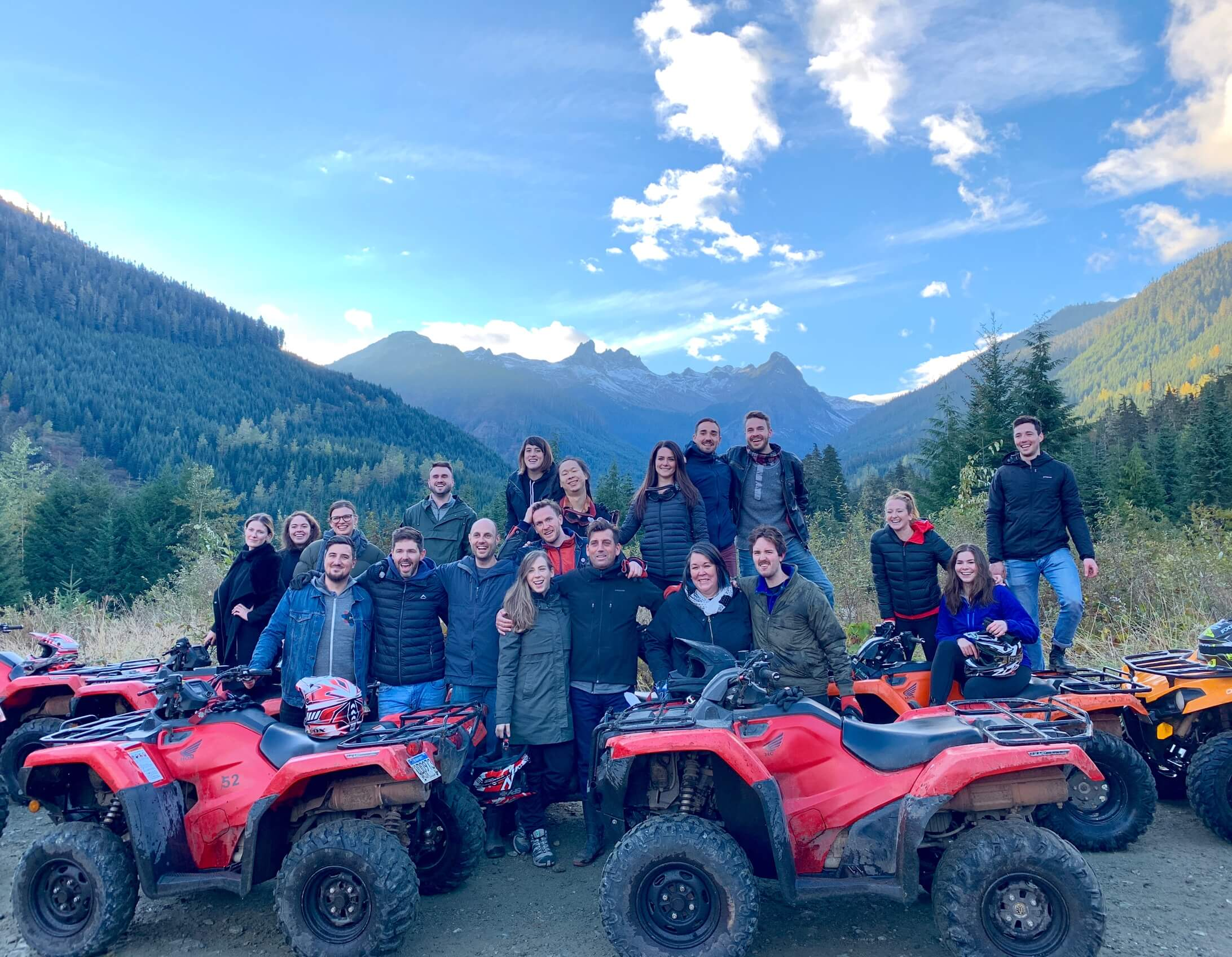 MetaLab goes ATVing in Whistler for Remote Summit 18