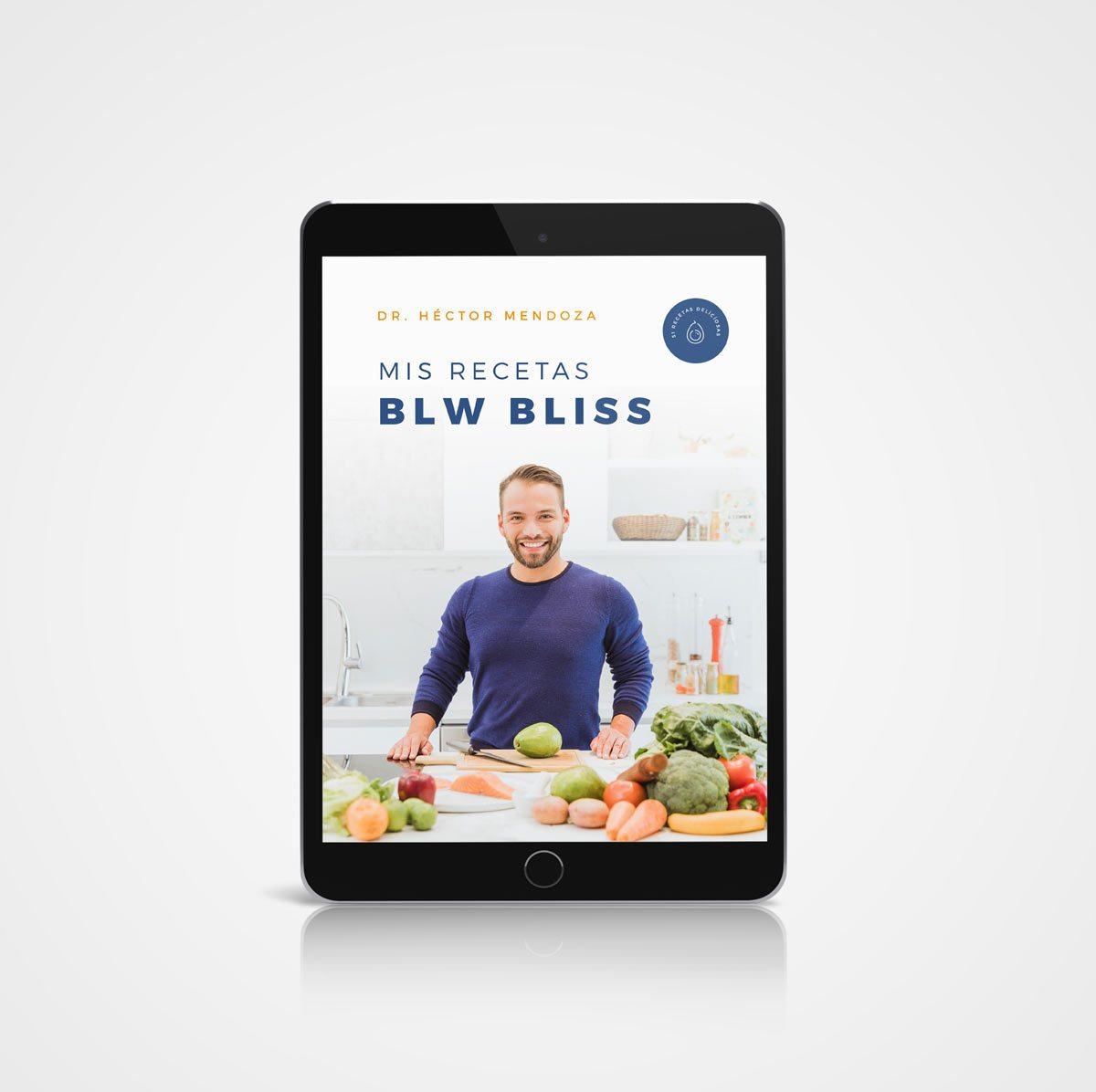 Ebook Mis recetas BLW Bliss