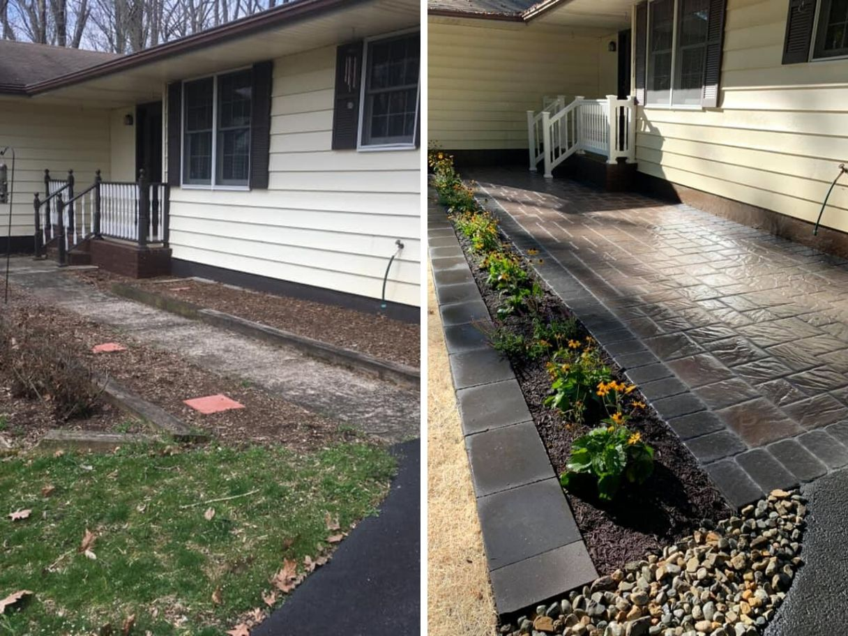 home-landscaping-before-and-after-new-tiling-and-planting