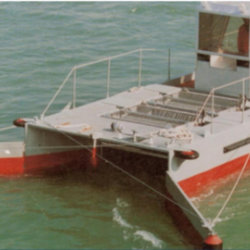 Oil Spill Response Catamaran