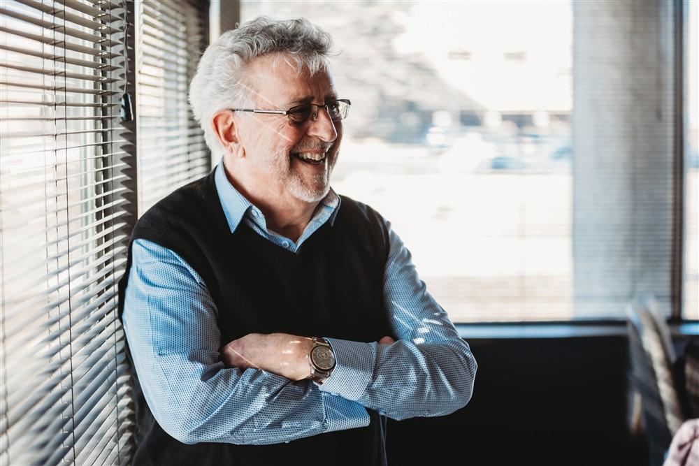Portrait photo of Tim Murtaugh, CEO of Smart Plastic.