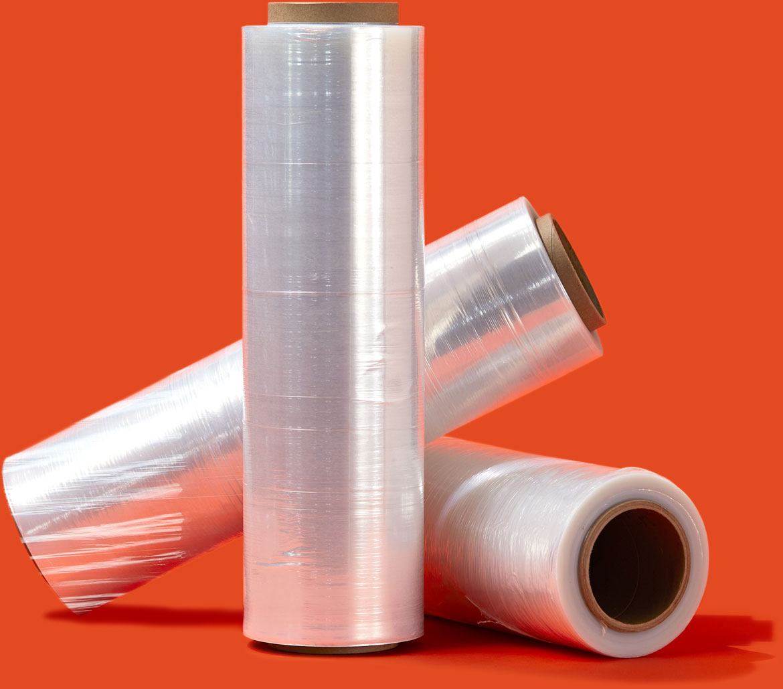 Photo of 3 rolls of ECLIPSE™ Stretch Film.