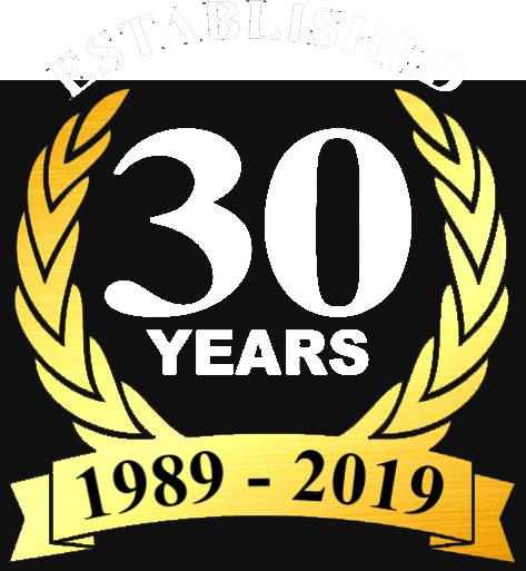 30 Years Badge