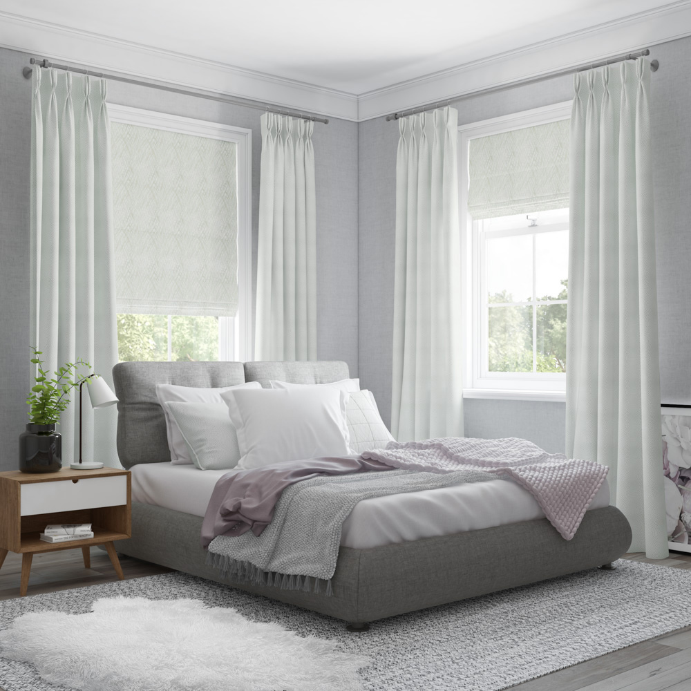 Light White Curtains