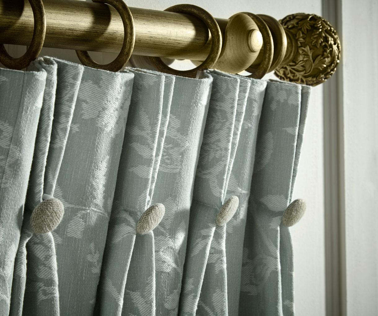 Grey Modern Curtains