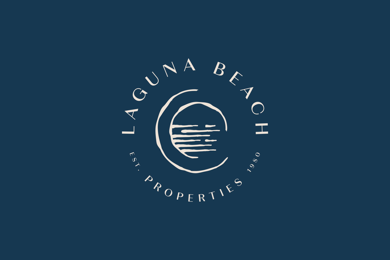 Laguna beach, laguna beach properties, Logo, logo design, property logo