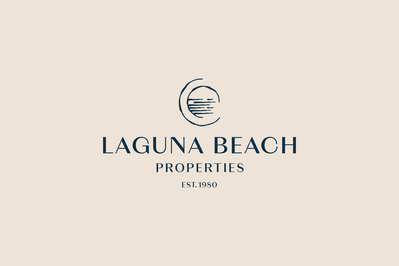 Logo, brand development, brand refresh, new logo, logo design, property logo, laguna beach properties