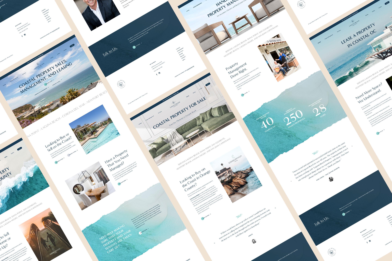 Website design, property management, property leasing, website, rebrand