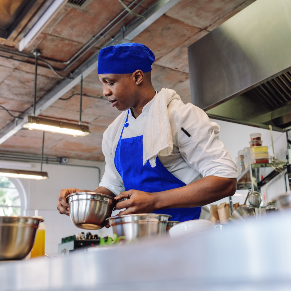 Find a great culinary job through Bluecrew as a temporary hospitality employee