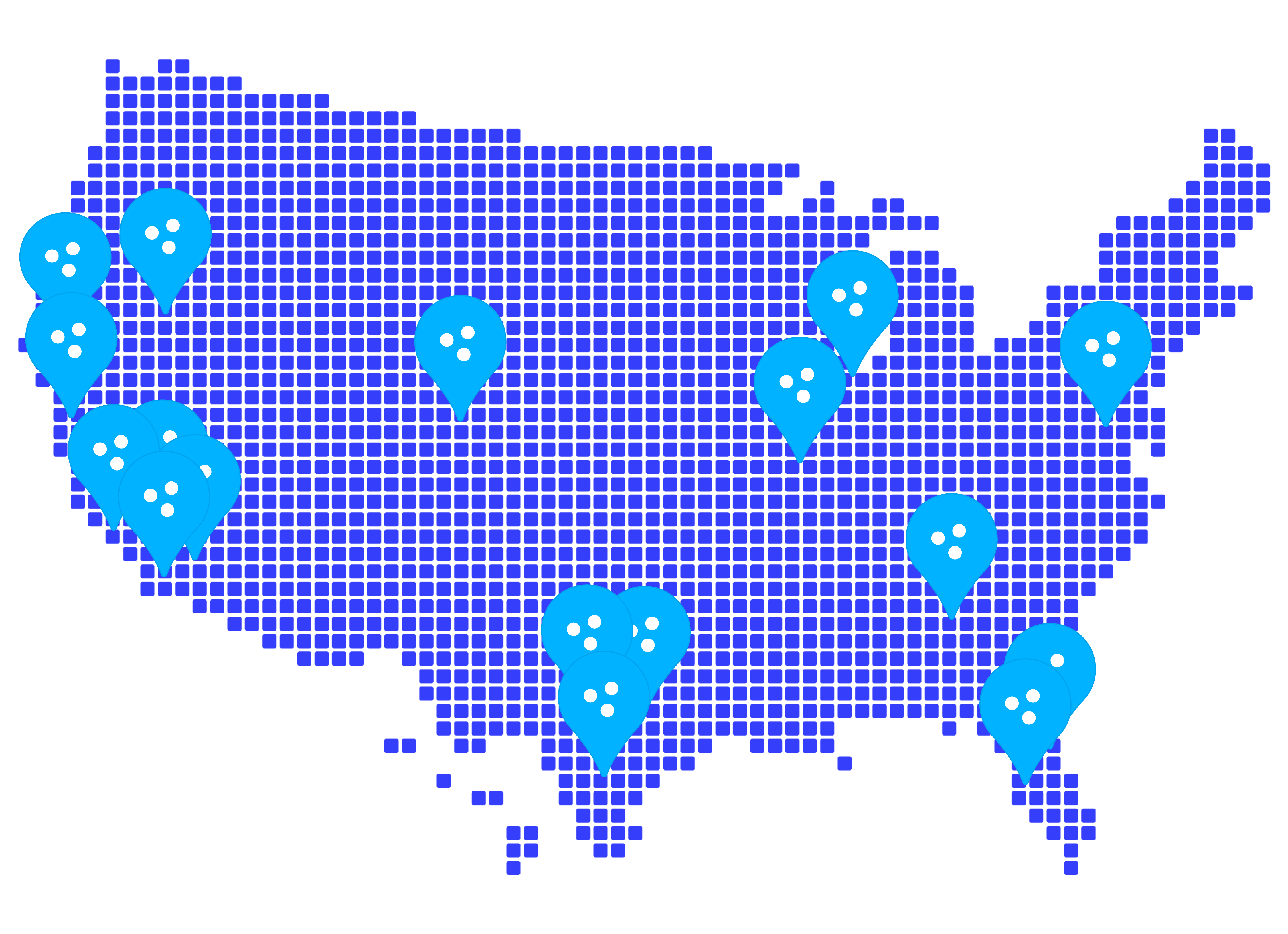 Bluecrew serves regions across the United States with qualified staffing technology and payroll services