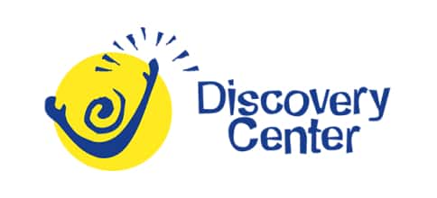 local non-profit partner Discovery Center logo