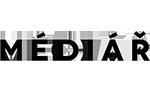 Logo magazínu Médiář