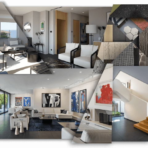 Reform Interior Design services for high-end modern homes and residential interiors in Cyprus.