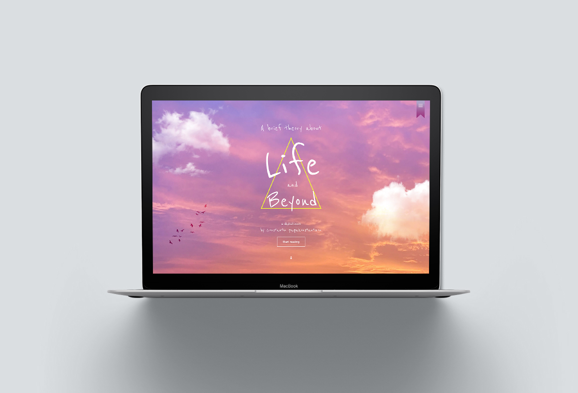 Custom web design and development services for an e-book website by Reform Design, Cyprus, including SEO and CMS.