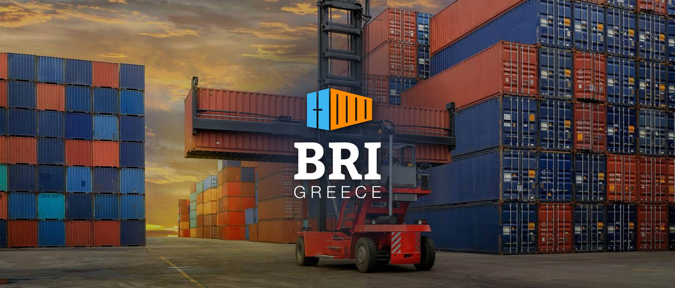 Concept inspiration for logo, branding and website design for BRI Greece, by Reform.