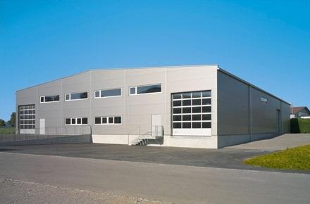 Neubau Industriehalle in Baunatal