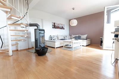 Wunderschöne Maisonette-Wohnung