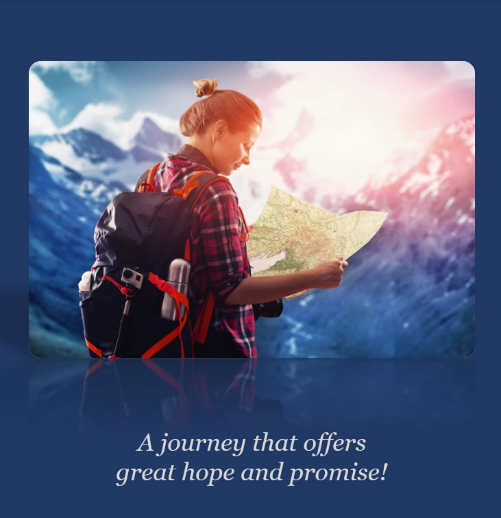 A journey that offers great hope and promise