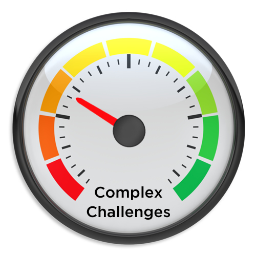 Moving the Needle on Complex Challenges
