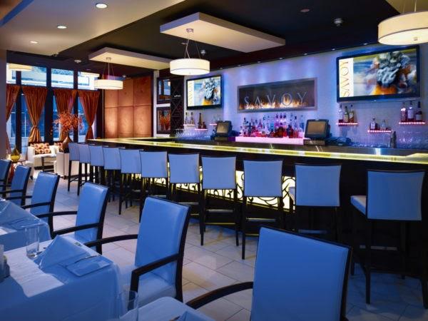 Savoy restaurant bar